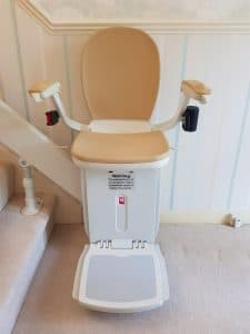 reconditioned curved stairlift