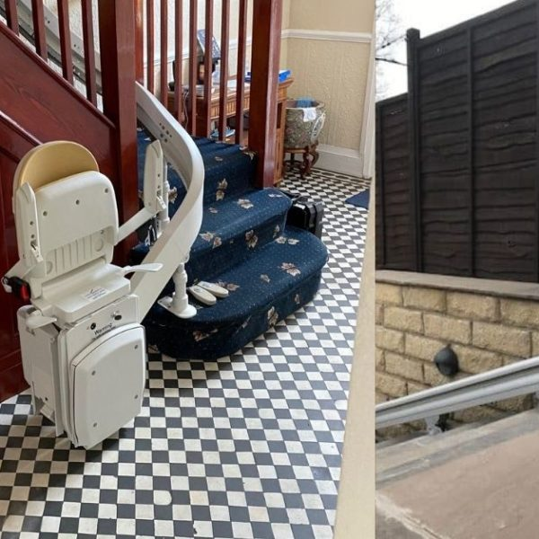 multiple stairlifts in the home