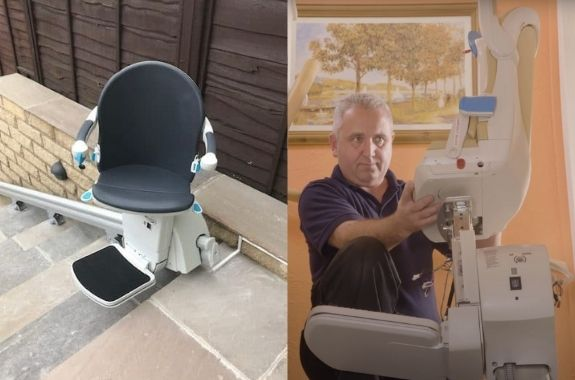 Rent or buy a stairlift