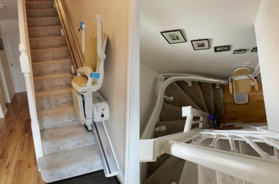 Straight or Curved Stairlift