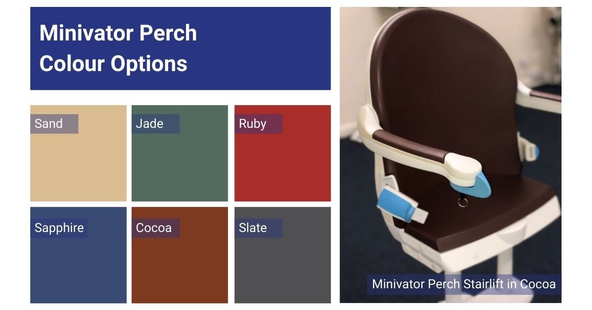 Perch Stairlift Colour Options