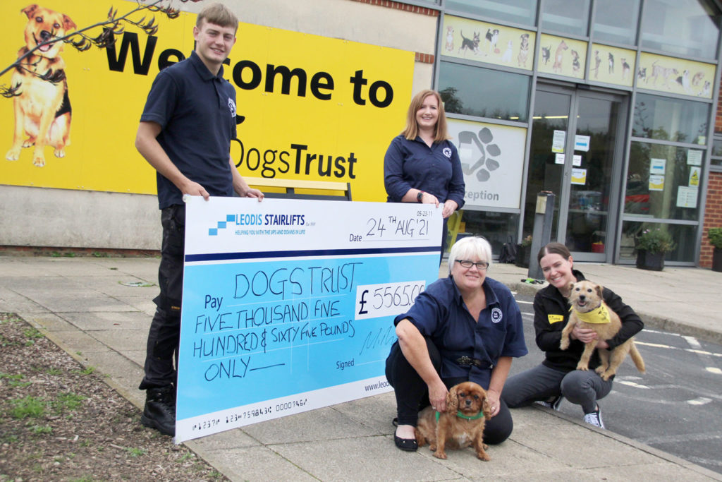 Fundraising for Dogs Trust Leeds
