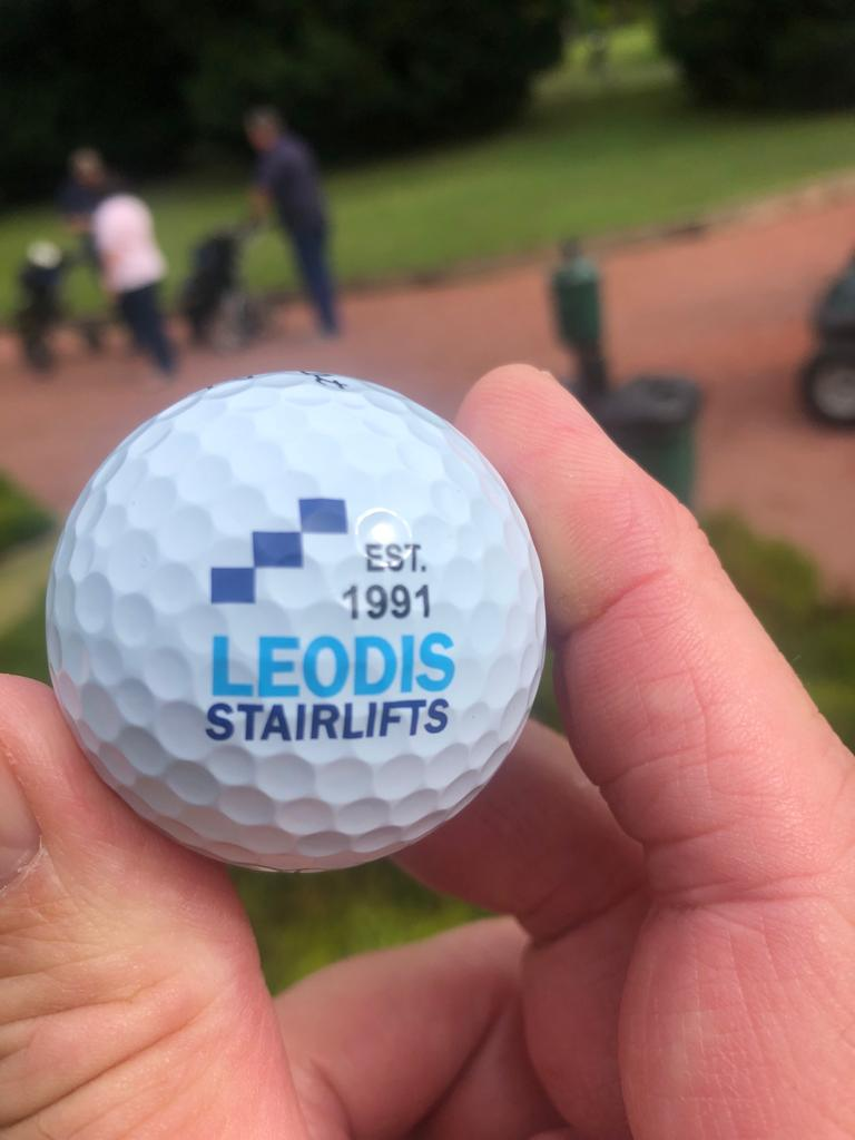 Leodis Stairlifts Golf Ball