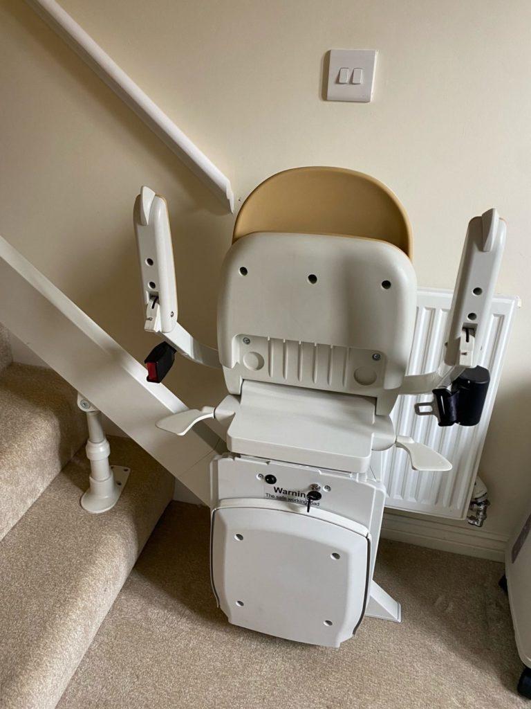 Stairlift installation in Darlington