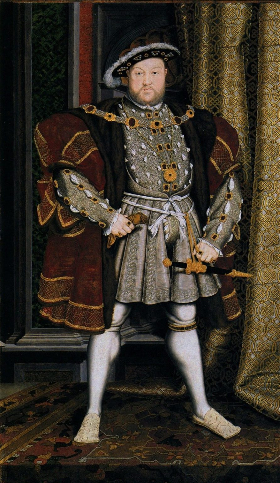 The first stairlift was made for Henry VIII