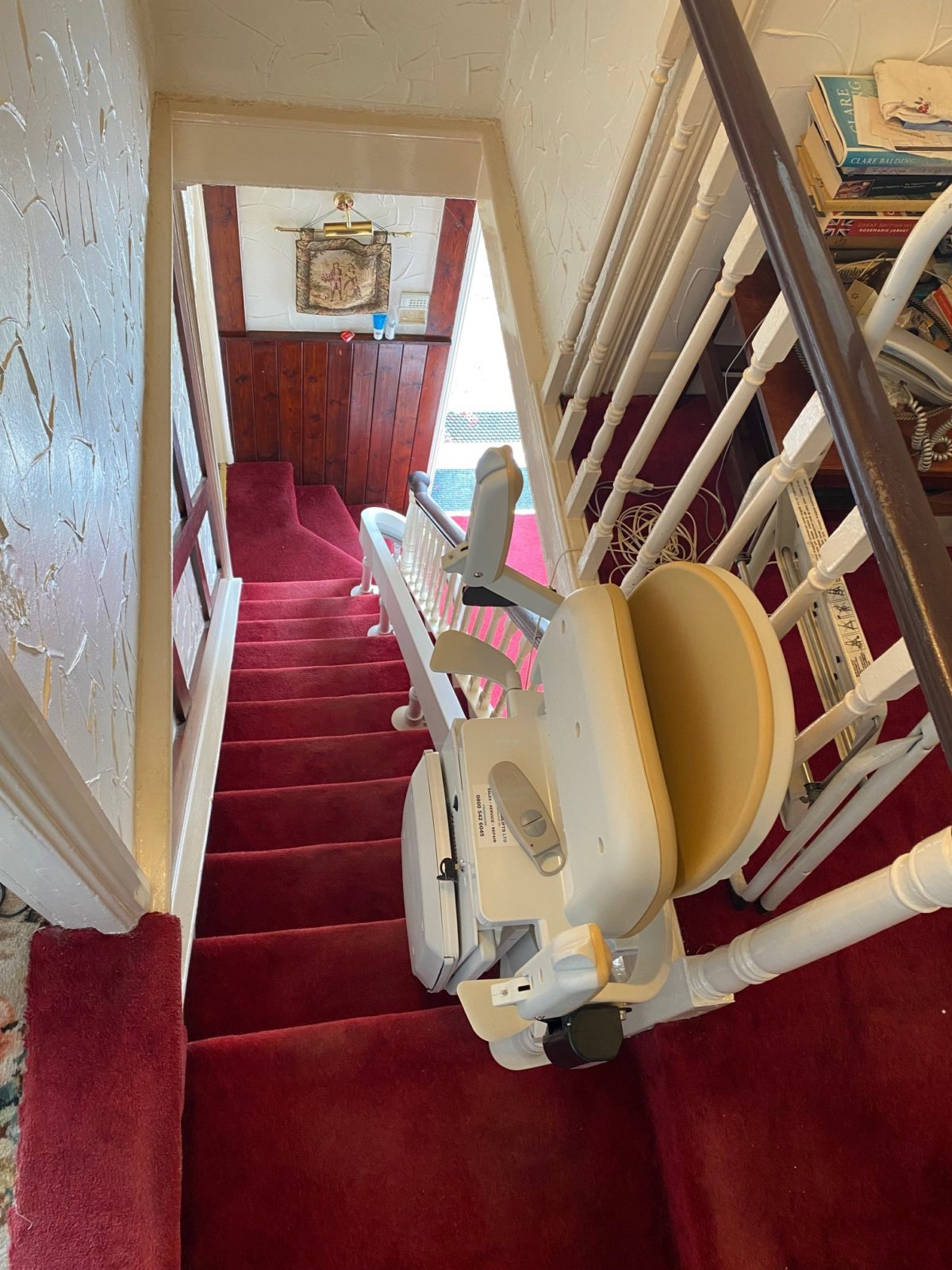Stairlift installed in Aberford