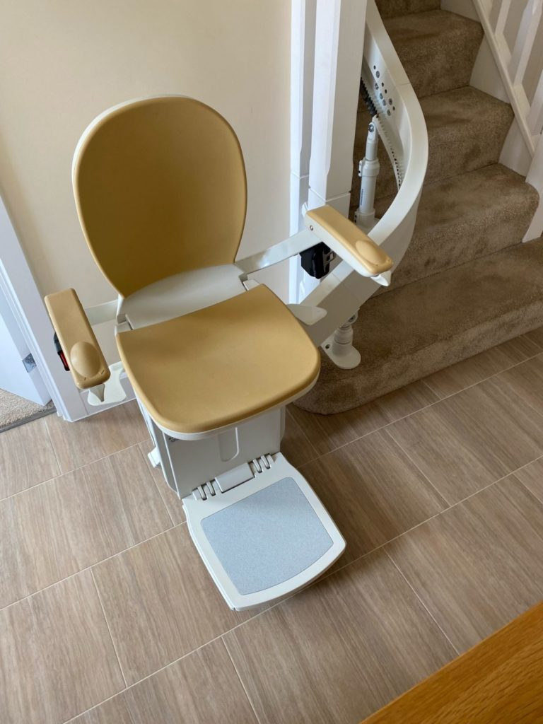 curved_stairlift_installation_Wetherby_3