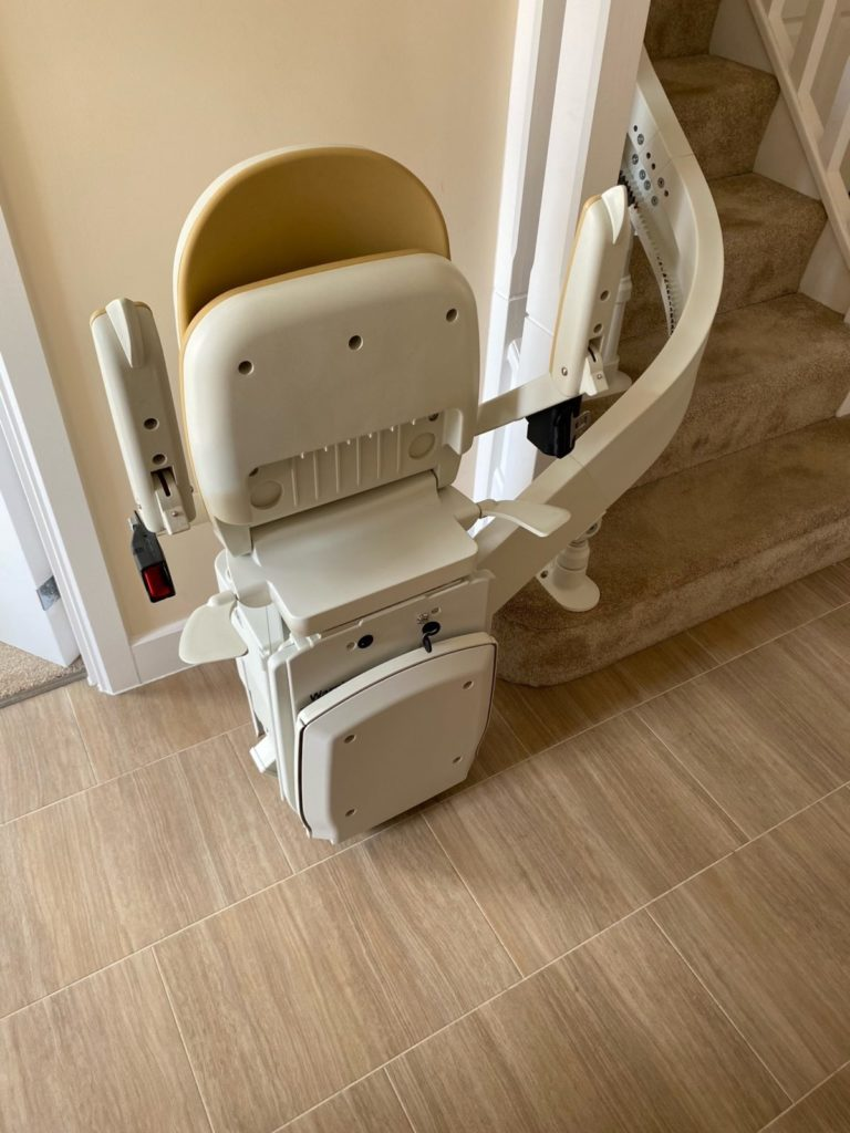 curved_stairlift_installation_Wetherby_4